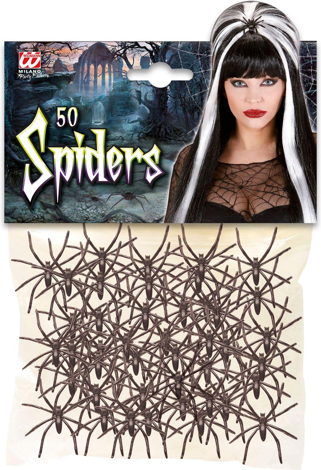 Spinnen set 50 stuks