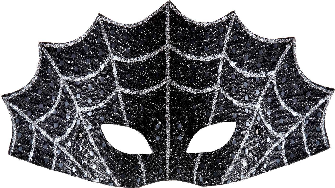 Spinnenweb oogmasker
