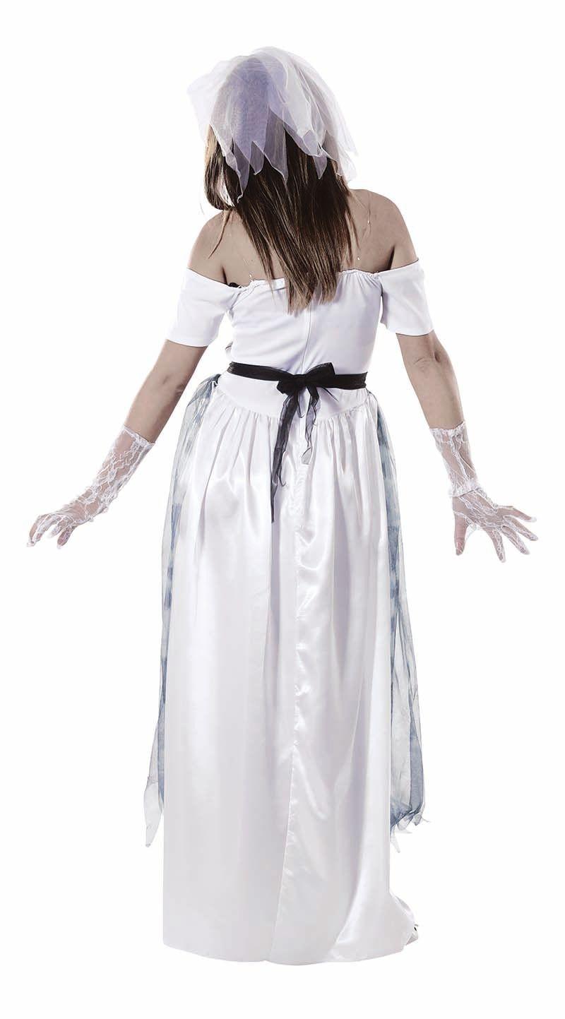 Spook bruid kostuum
