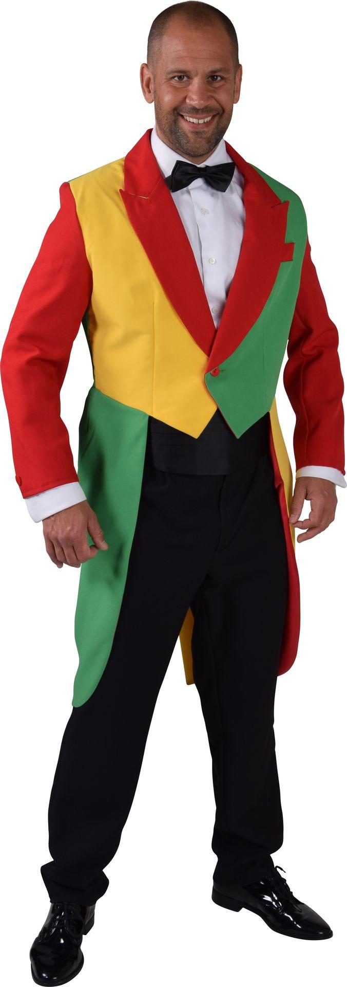 Spreekstalmeester mannen pak