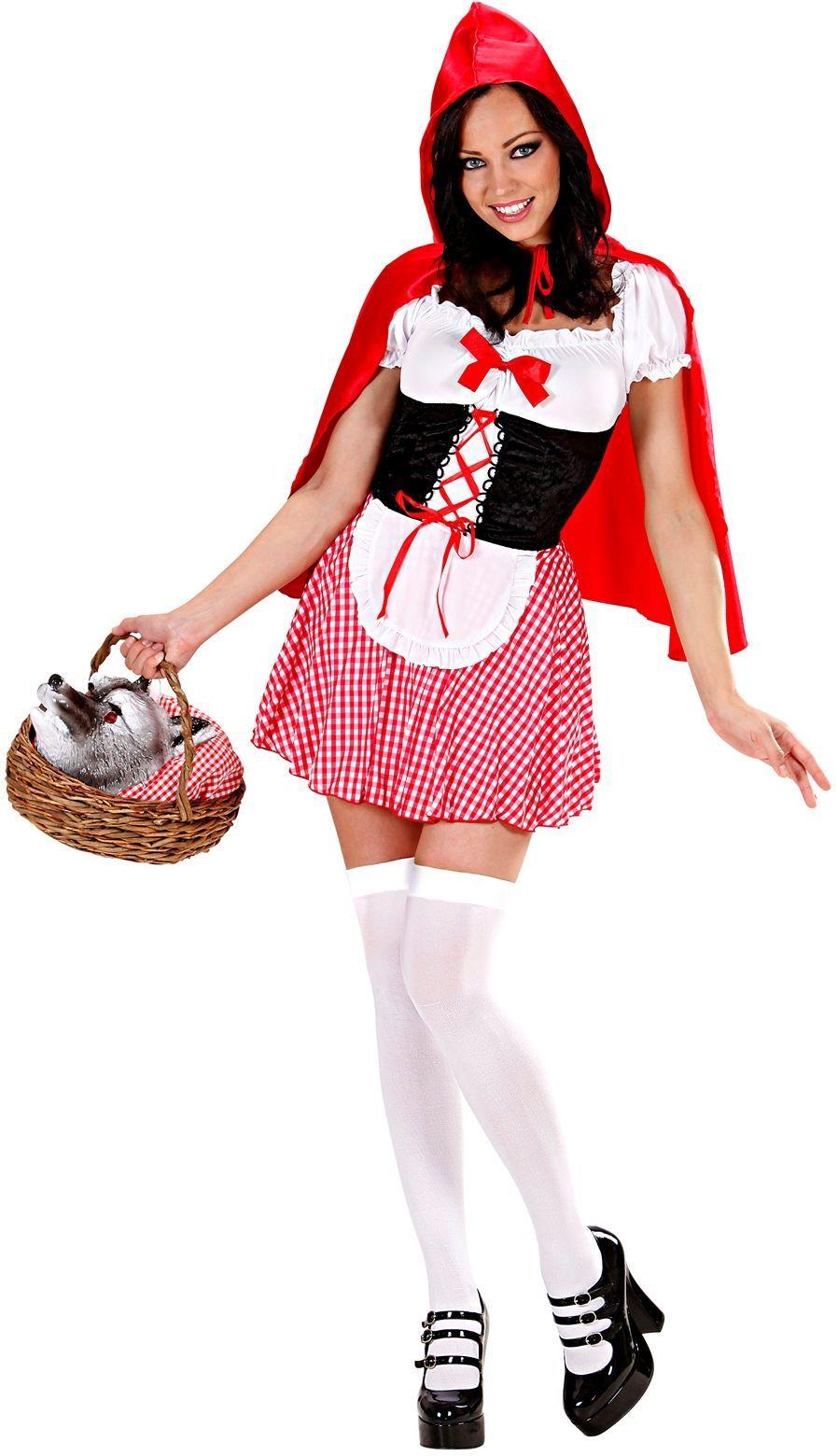 Sprookjes roodkapje kostuum