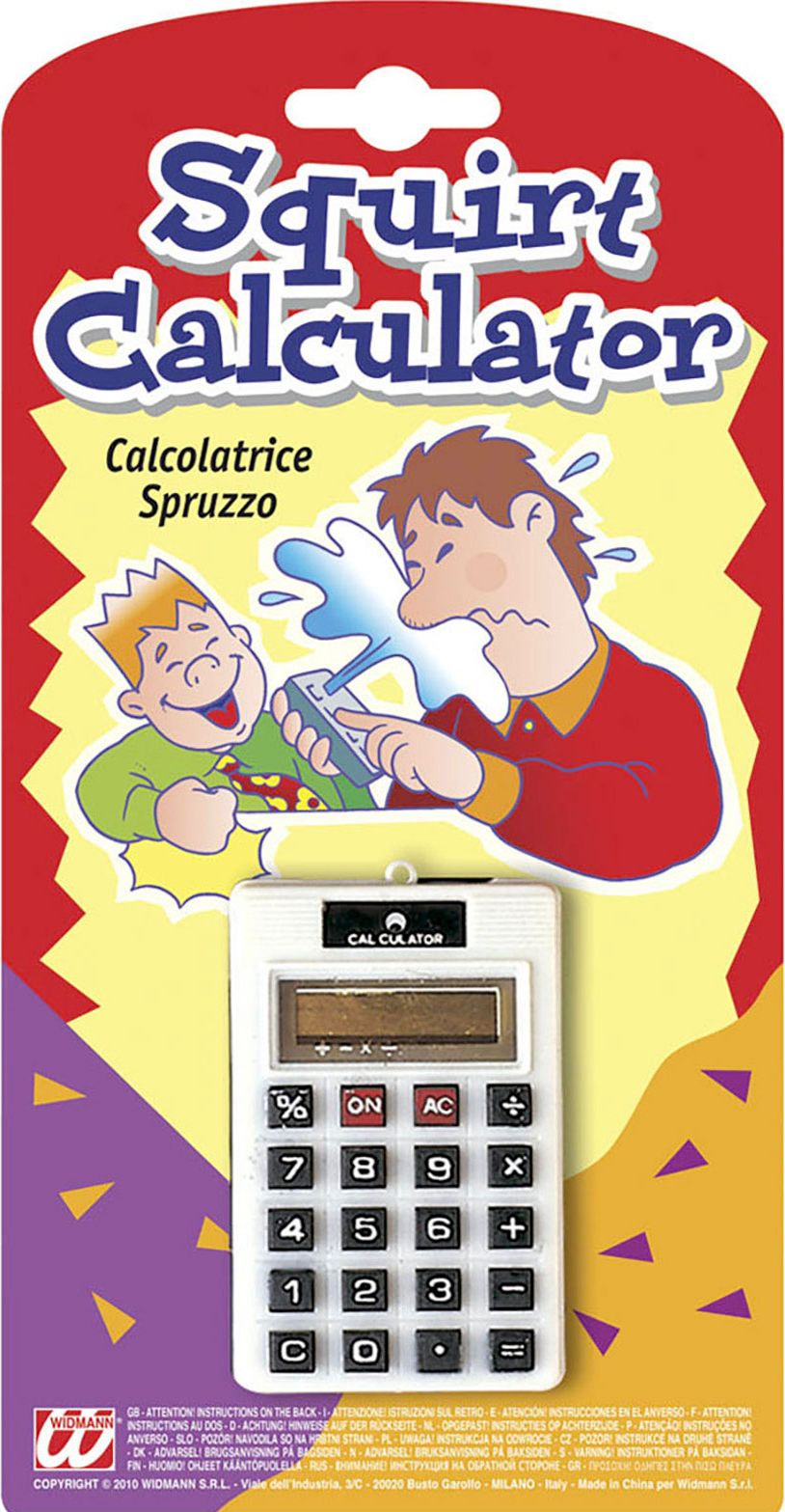 Spuitende fop calculator