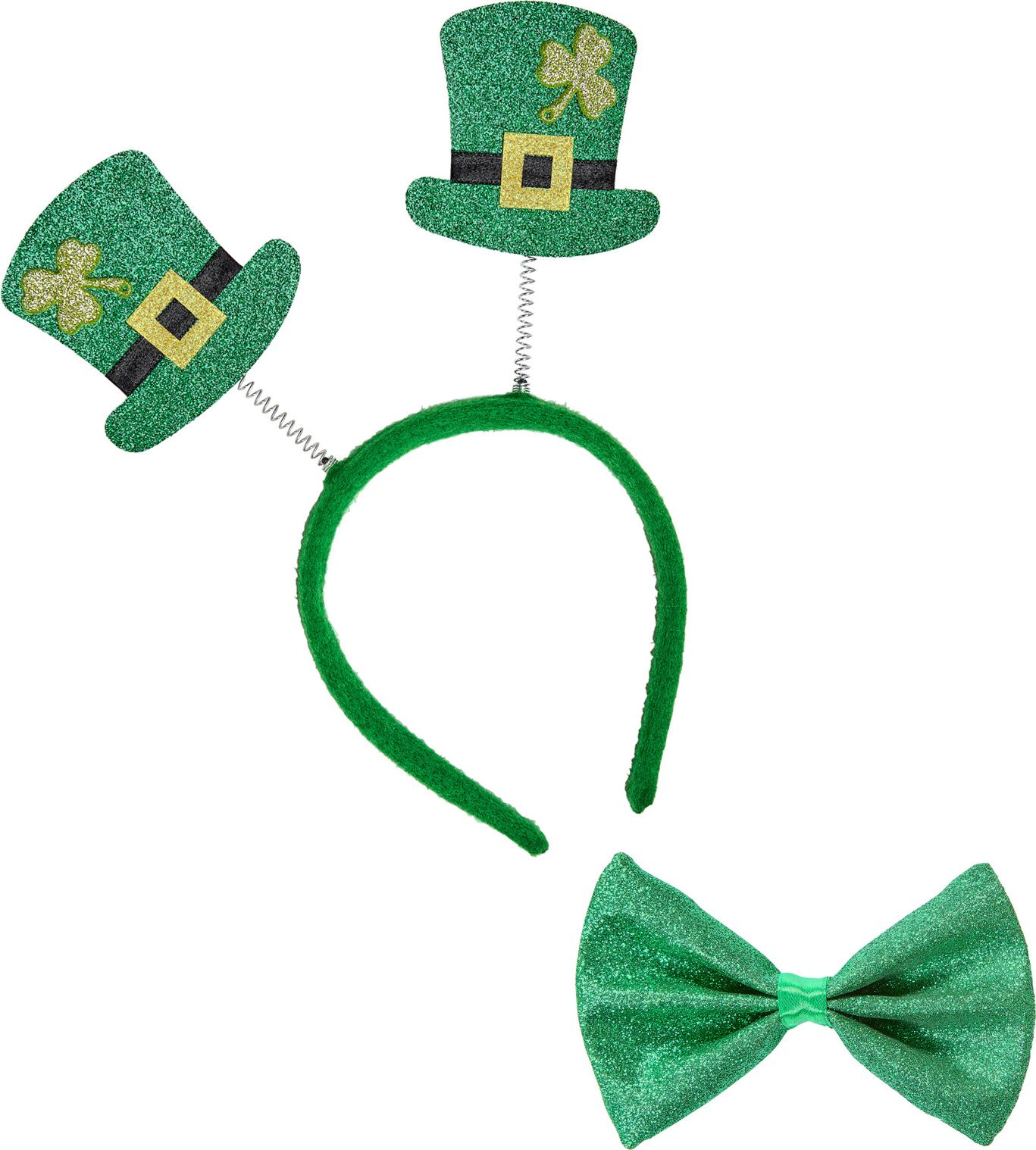 St. Patricksday glitter set