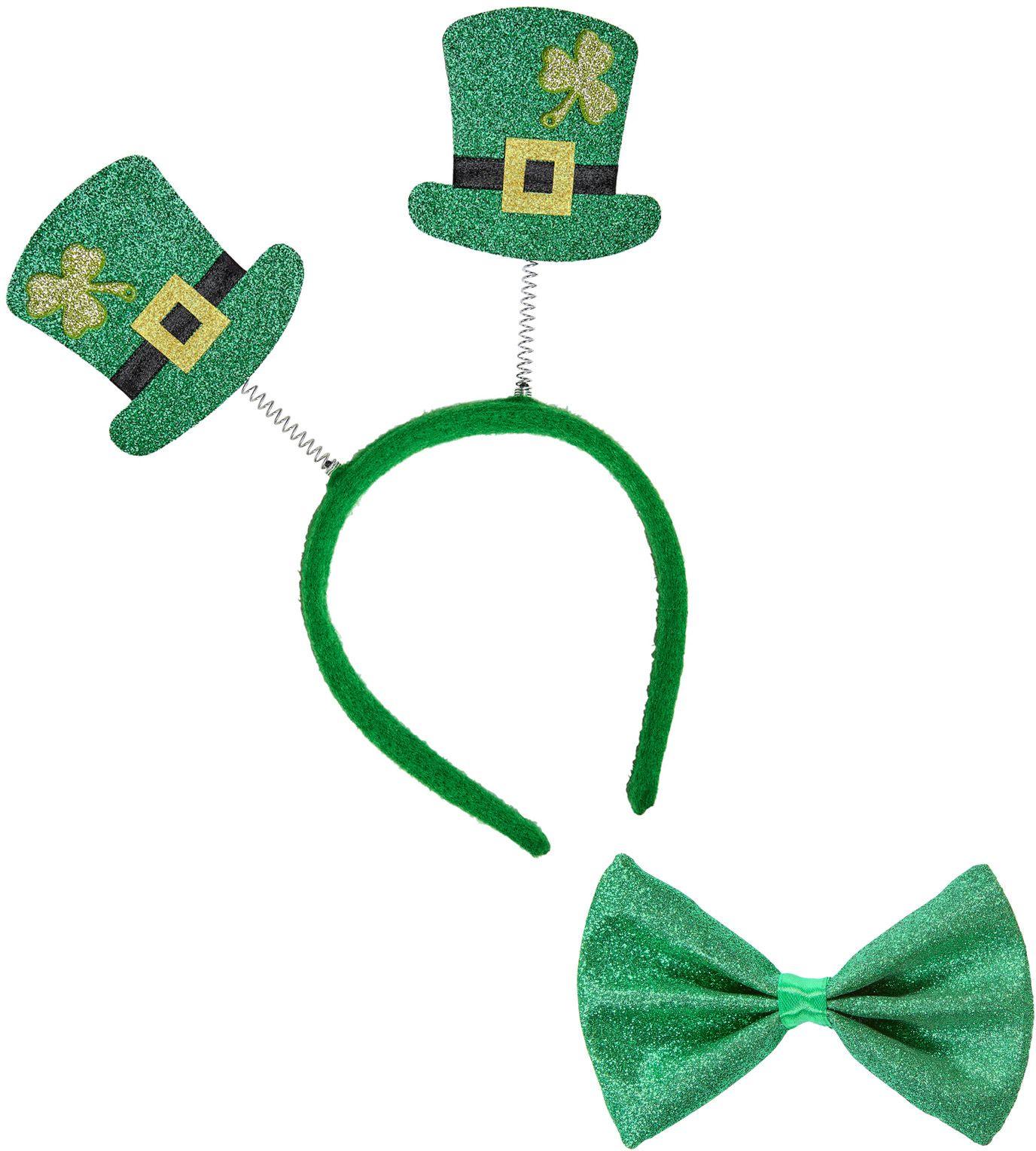 St. Patricksday glitter set