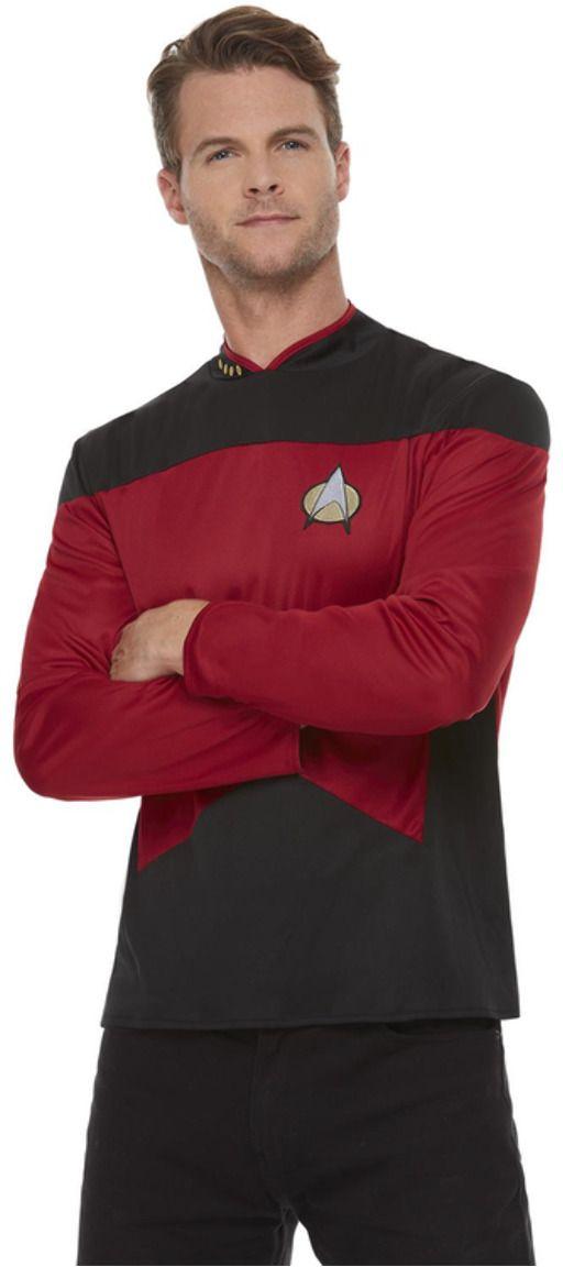 Star Trek rood zwart pak