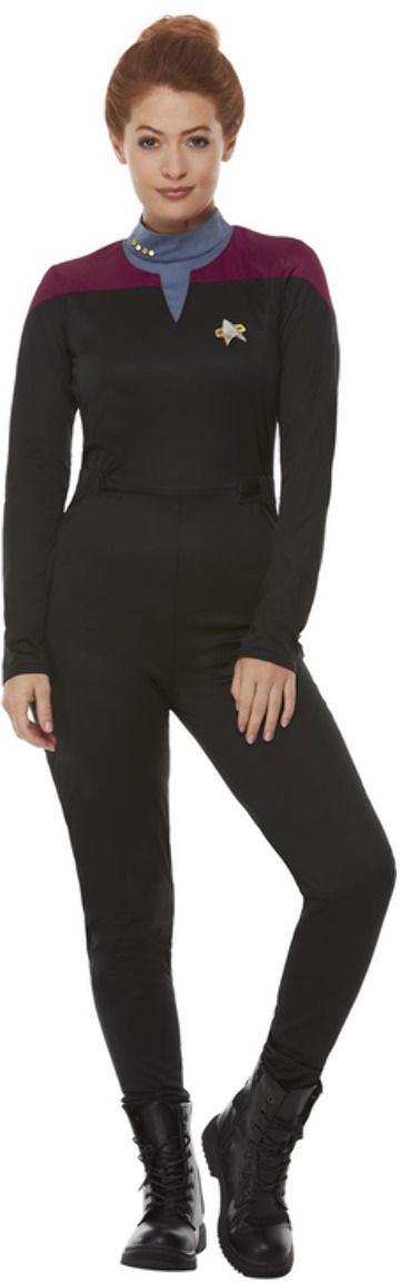 Star Trek vrouwen kostuum zwart
