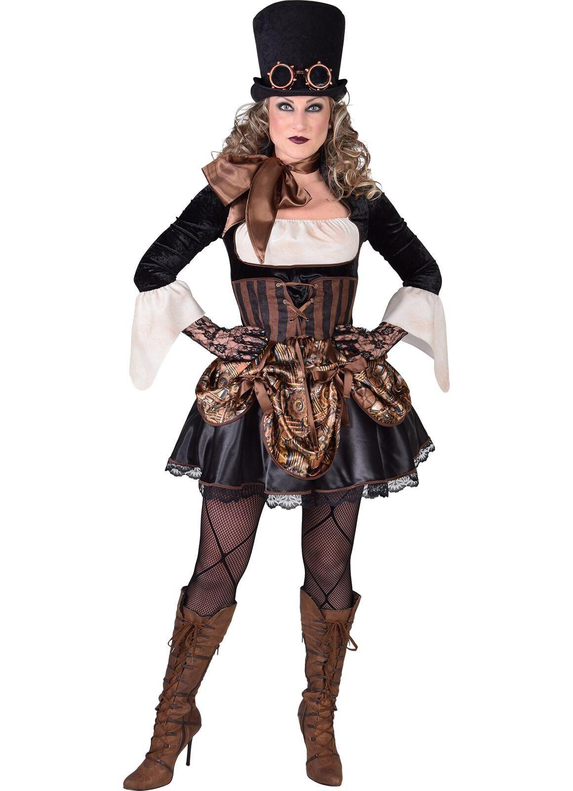 Steampunk dames jurk