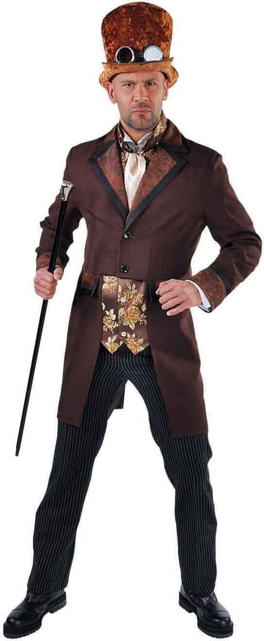 Steampunk outfit heren