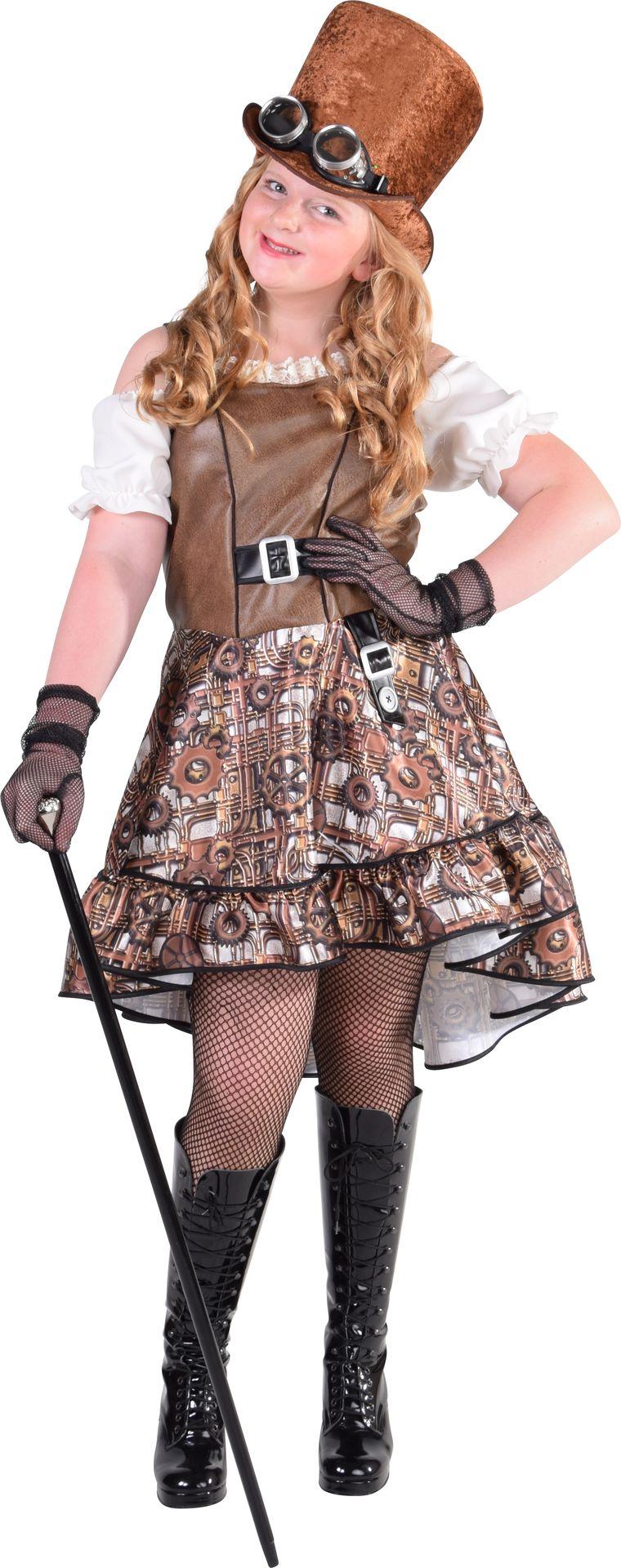 Steampunk outfit meisje