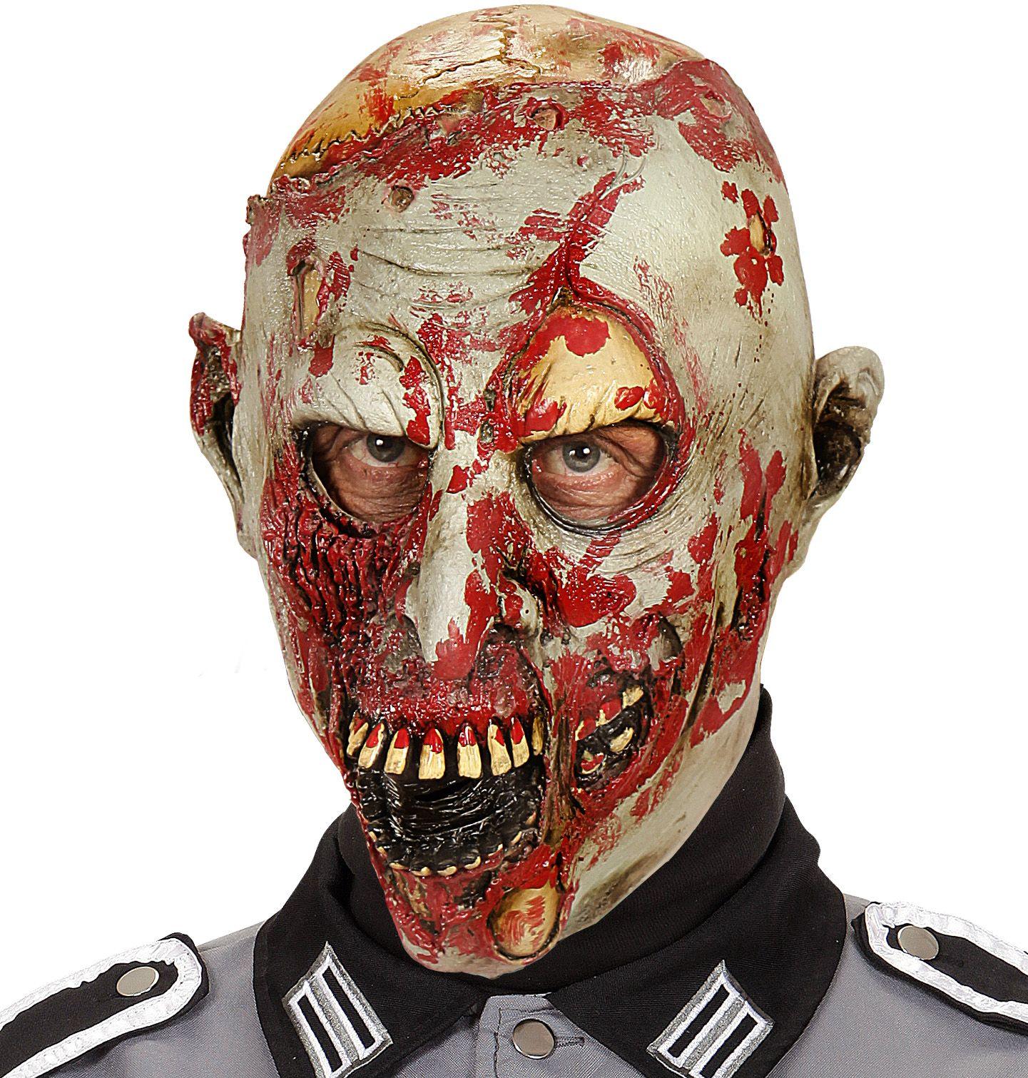 Sterfelijke zombie masker