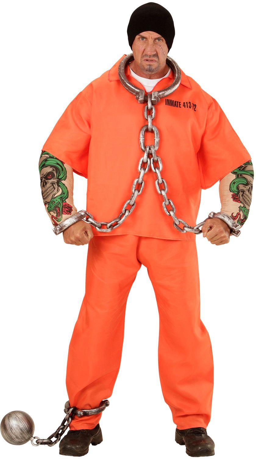 Sterke gevangene oranje