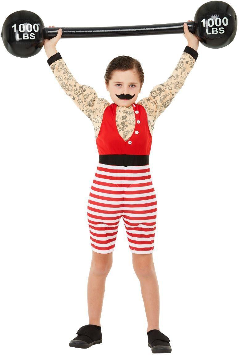 Sterke jongens kostuum circus