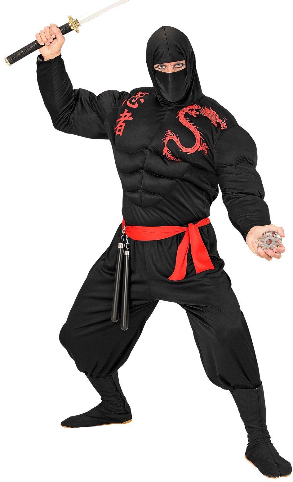 Sterke zwarte ninja