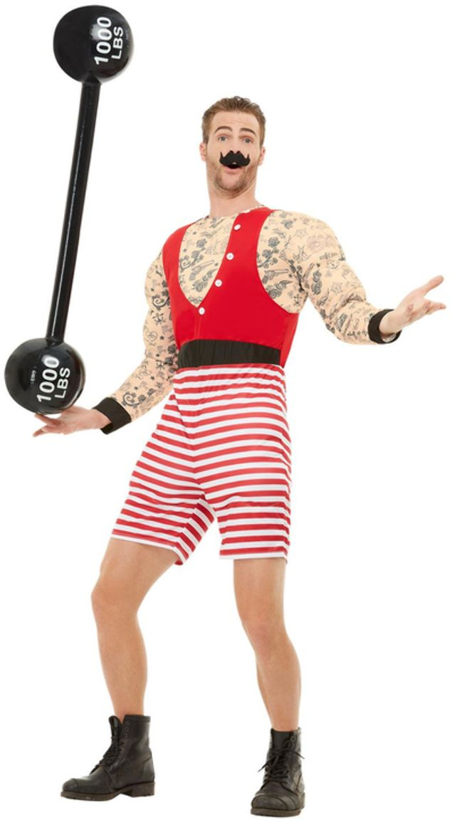 Sterkste man circus outfit