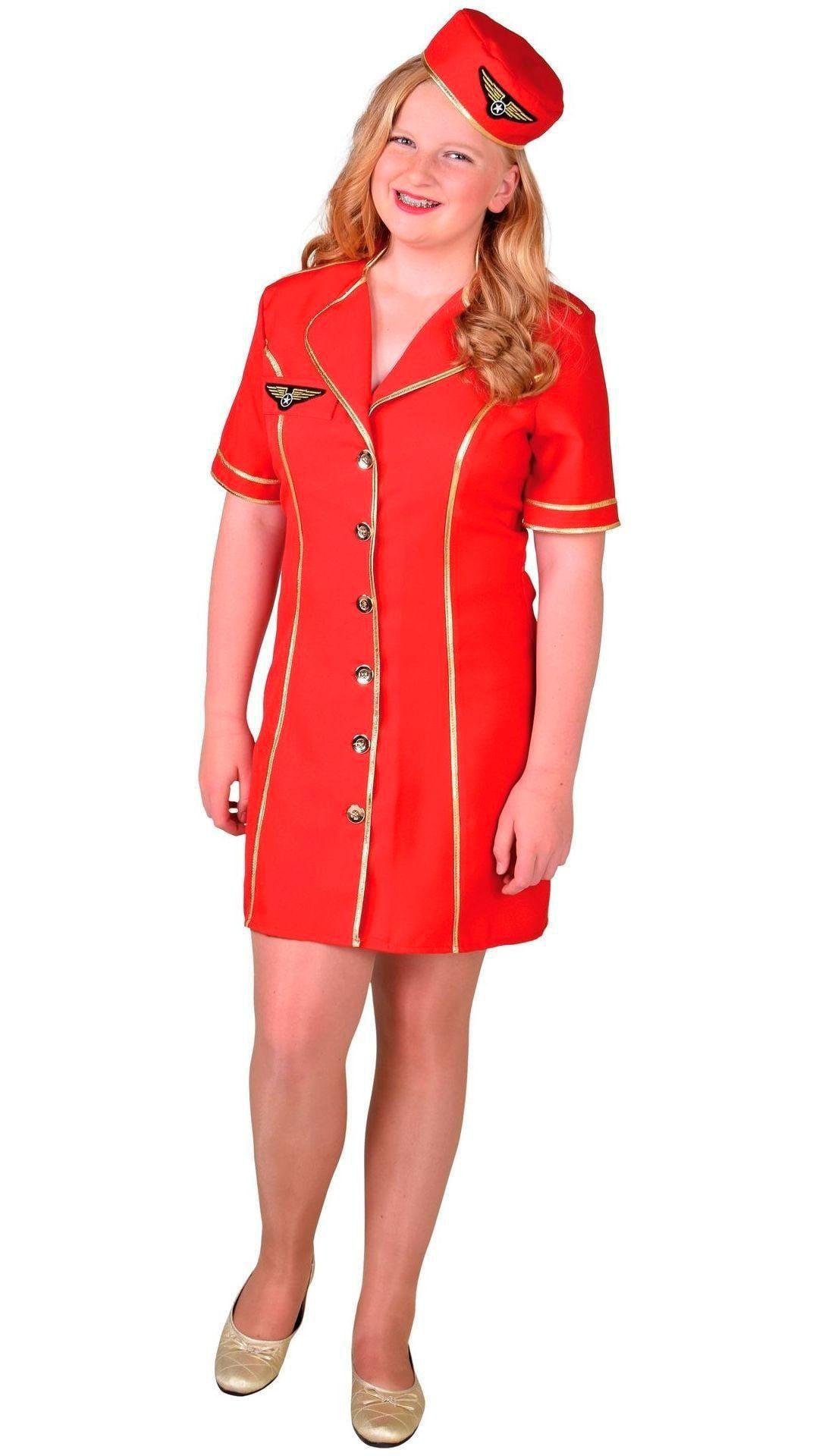 Stewardess outfit meisje