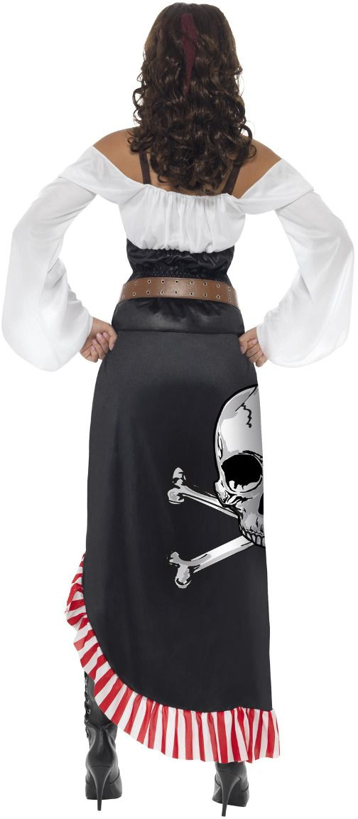 Stoere dames piraten outfit