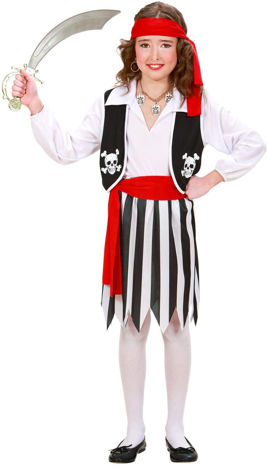 Stoere Piratenmeisje kostuum