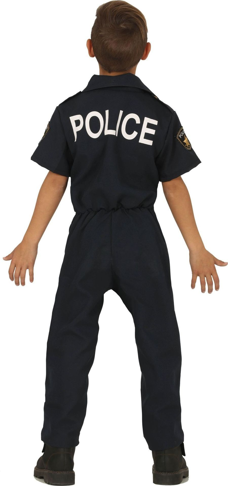 Stoere politie outfit kind