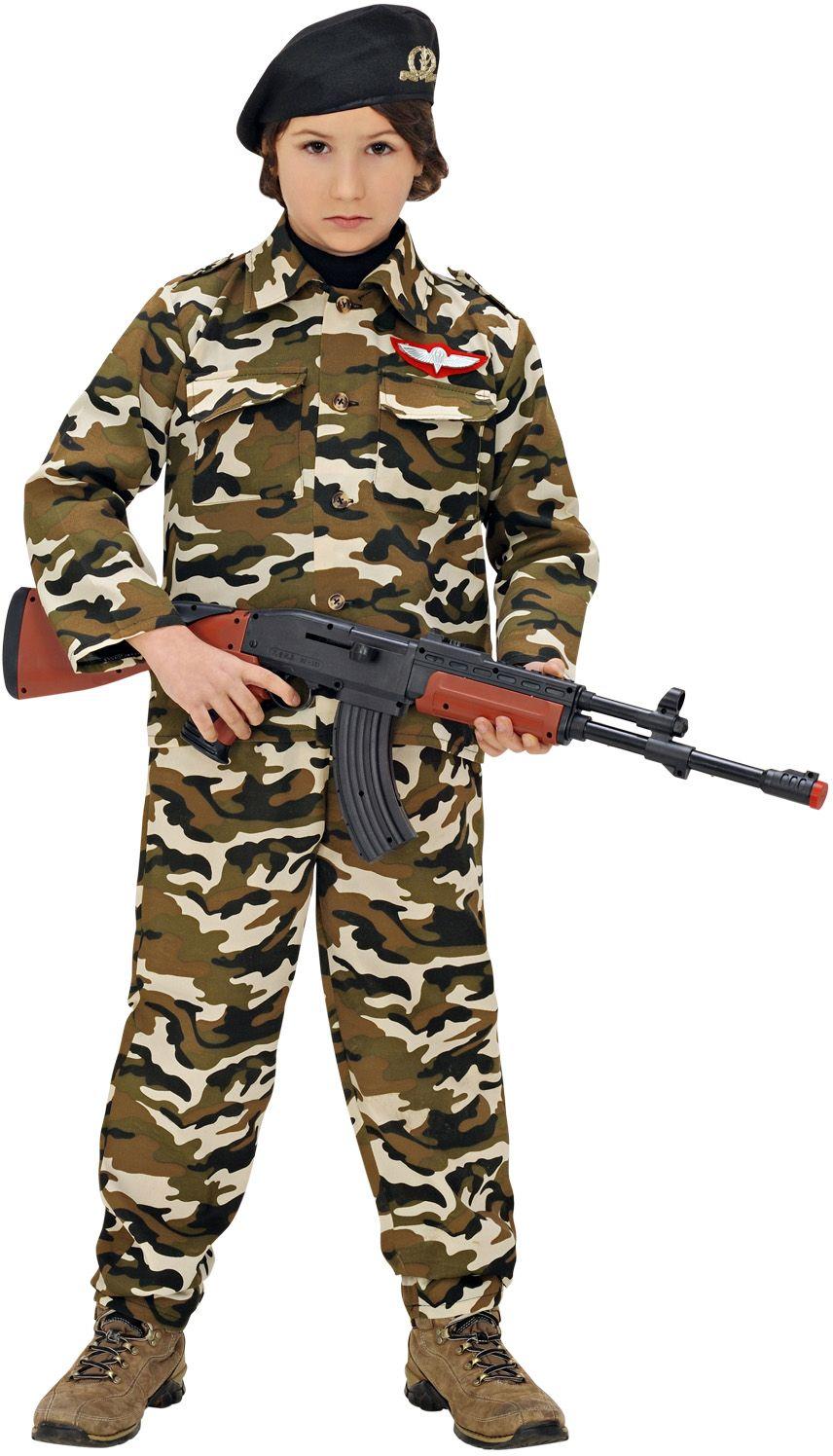 Stoere soldaat