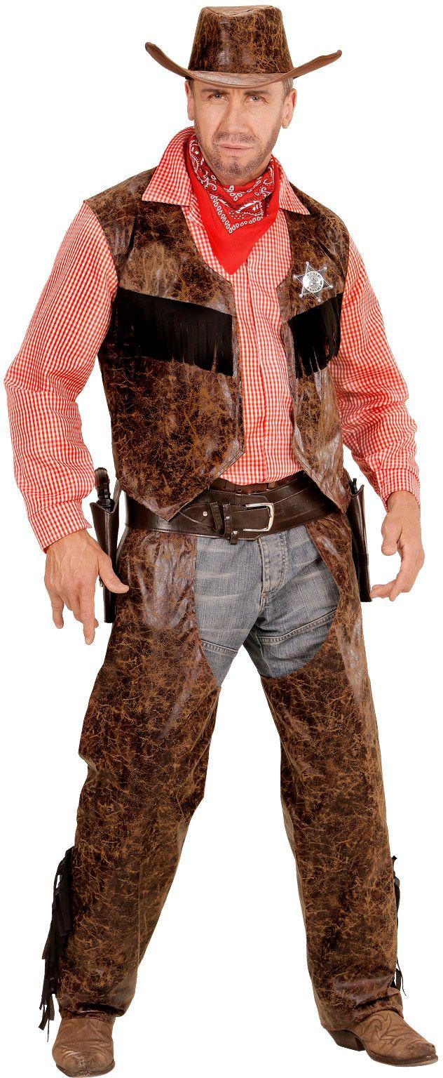 Stoere wilde westen cowboy