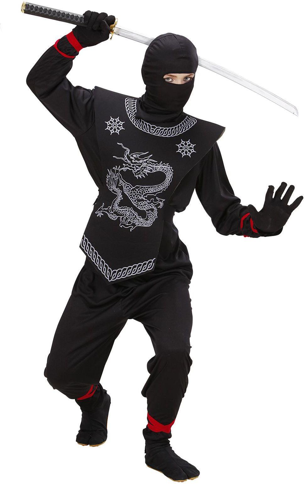 Stoere zwarte ninja