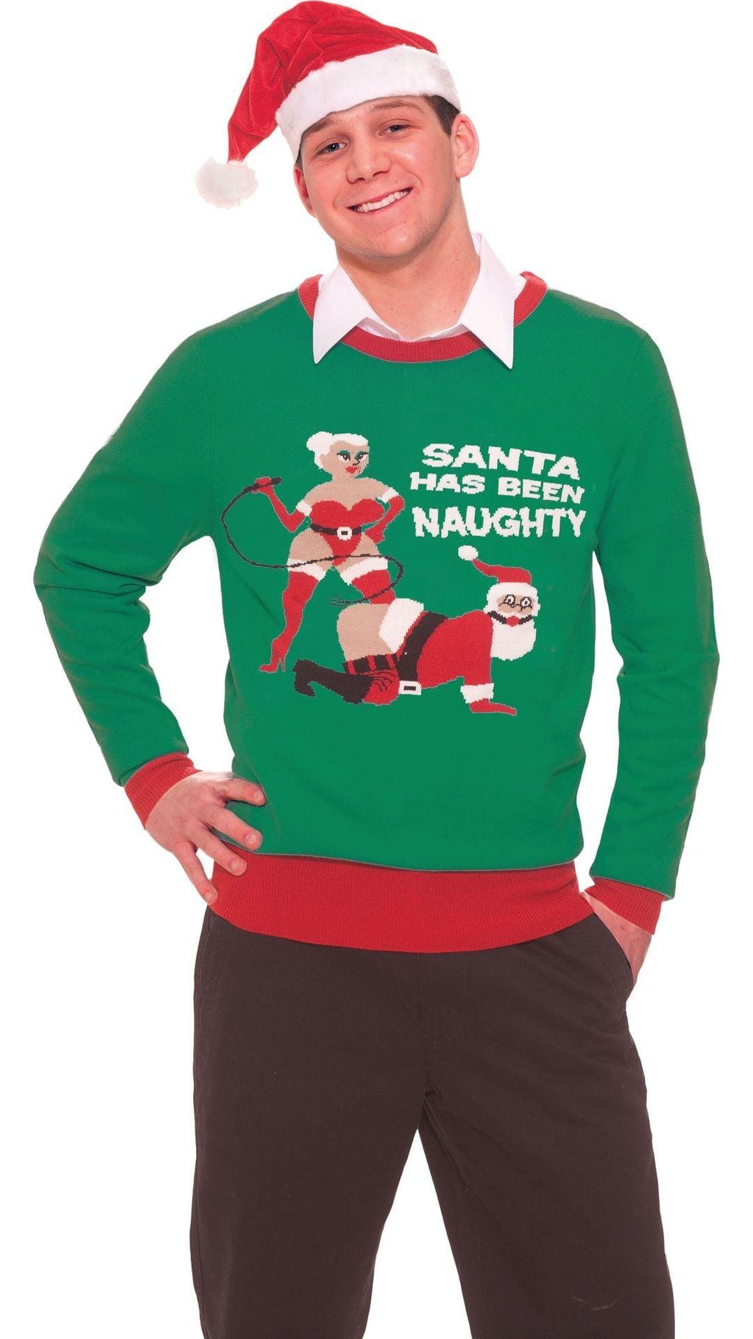 Stoute kerstman trui