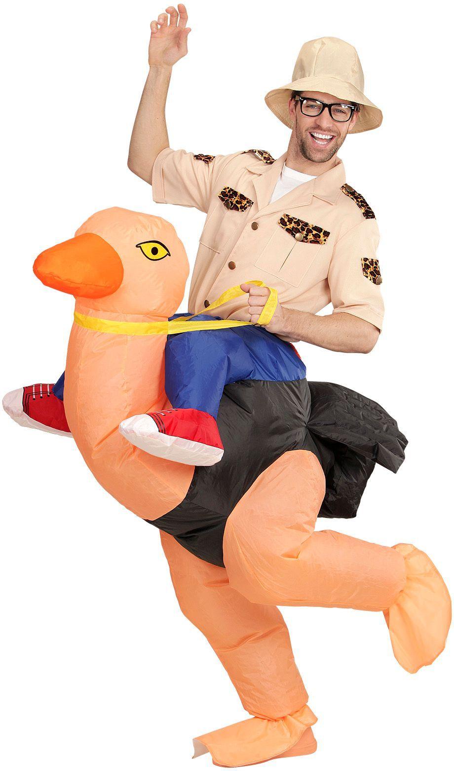 Struisvogel pak opblaasbaar