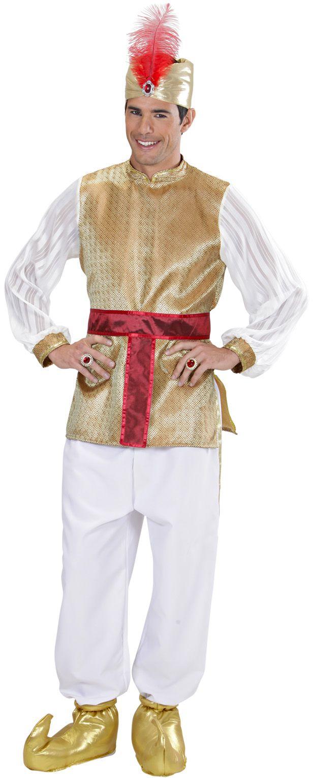 Sultan kostuum man