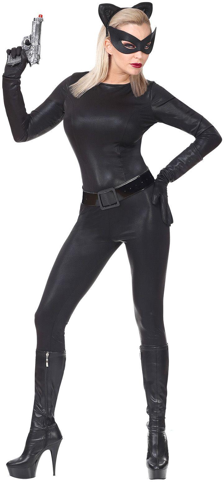 Super catwoman outfit zwart dames
