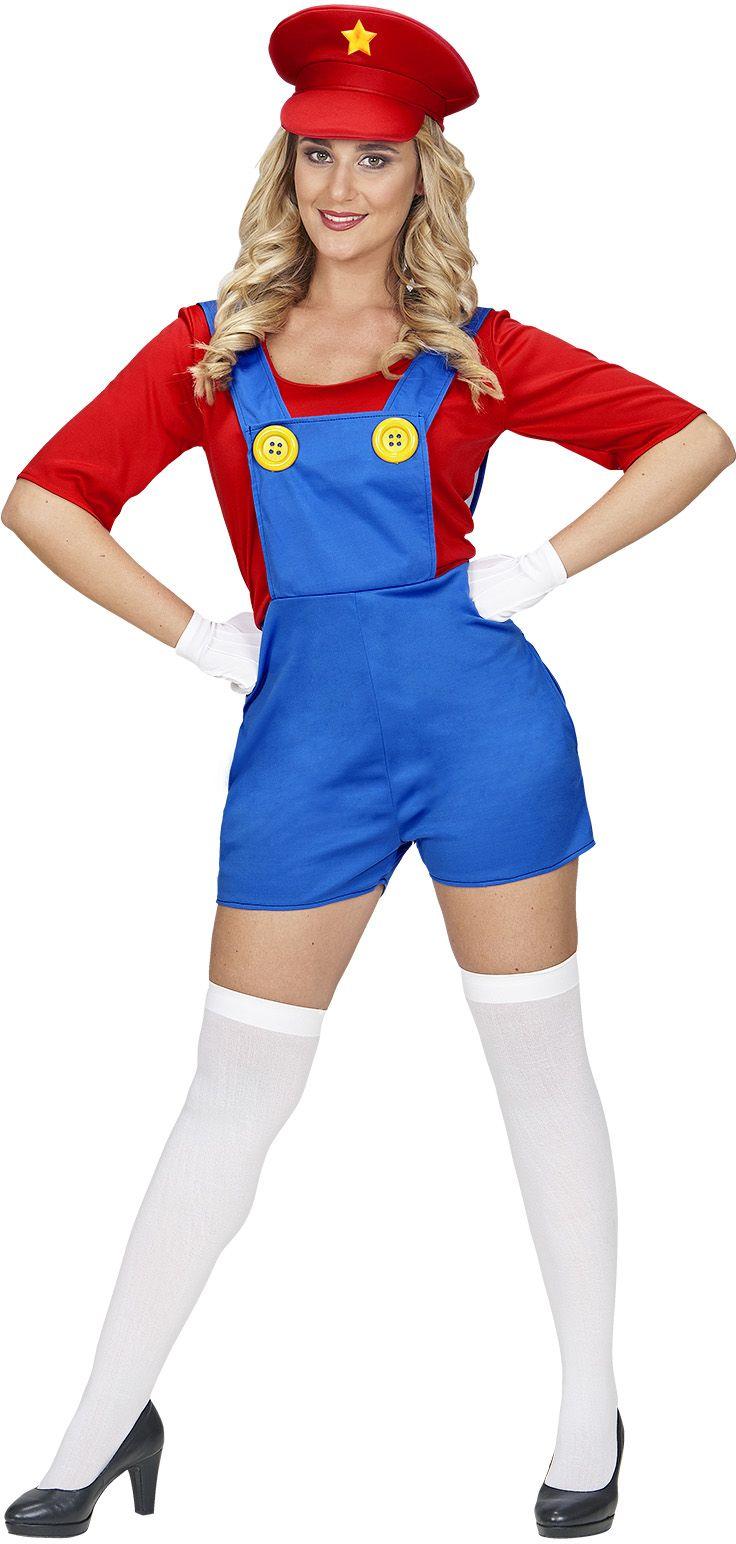 Super Mario kostuum dames