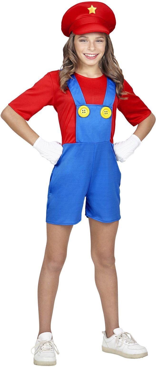 Super Mario kostuum meisjes