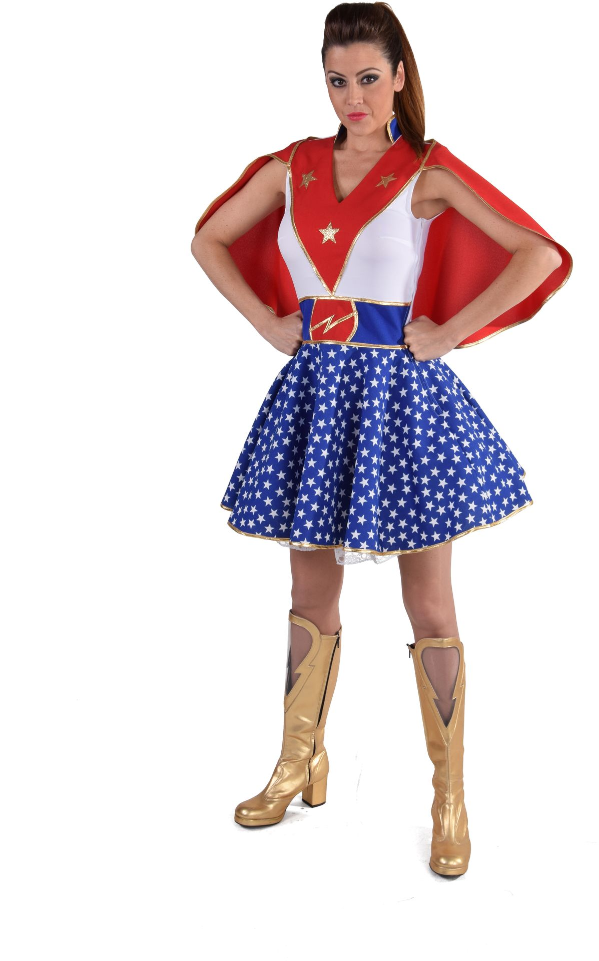 Super woman jurk