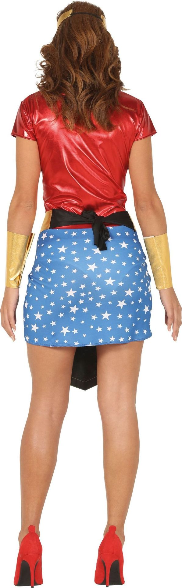 Superwoman jurk dames