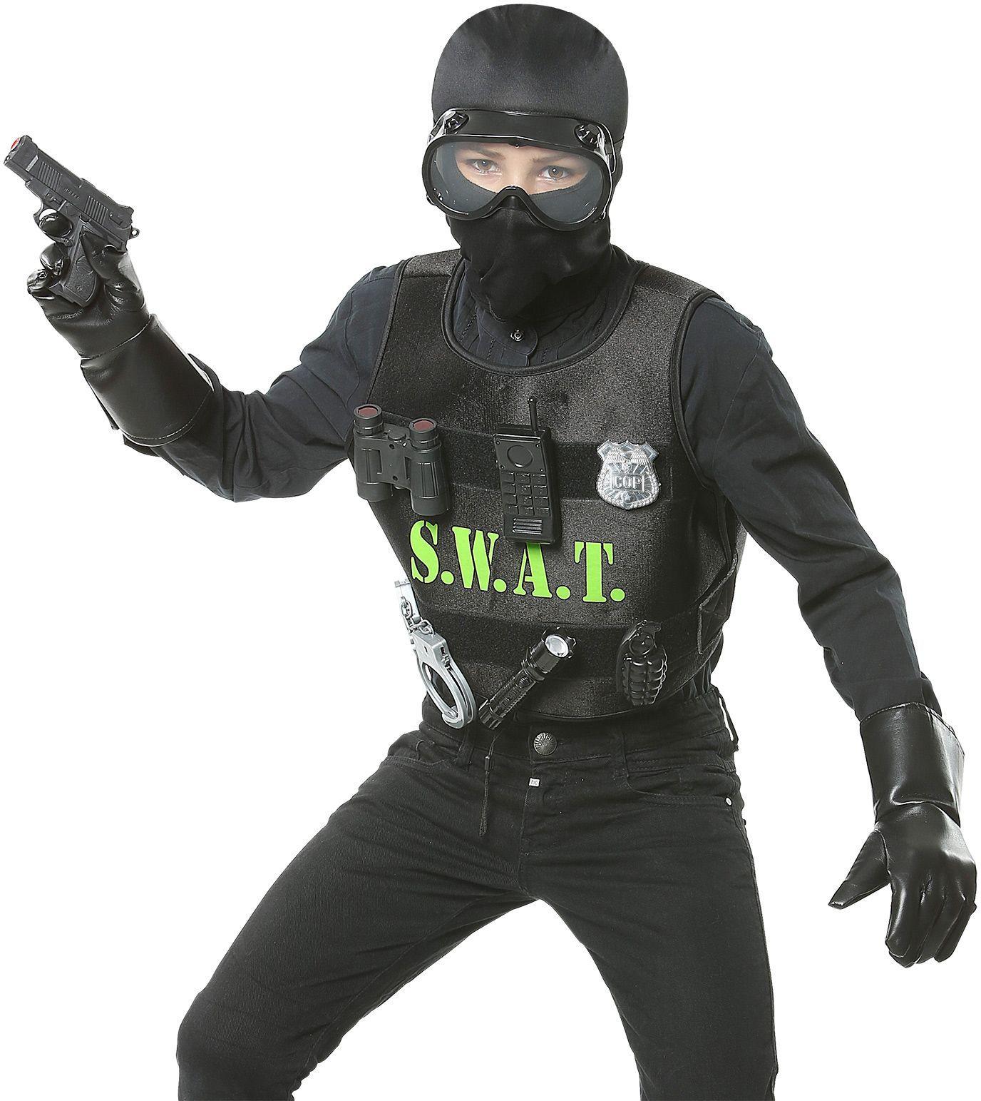 SWAT carnaval kind setje