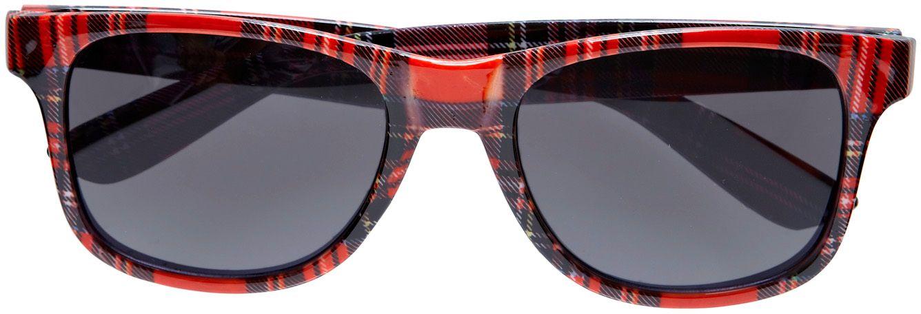 Tartan print bril