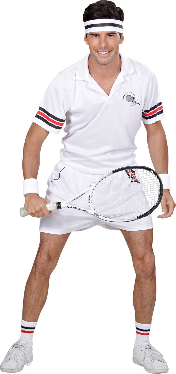Tennis kostuum man
