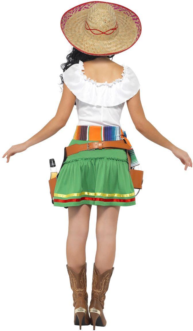 Tequila shotjes vrouw kostuum