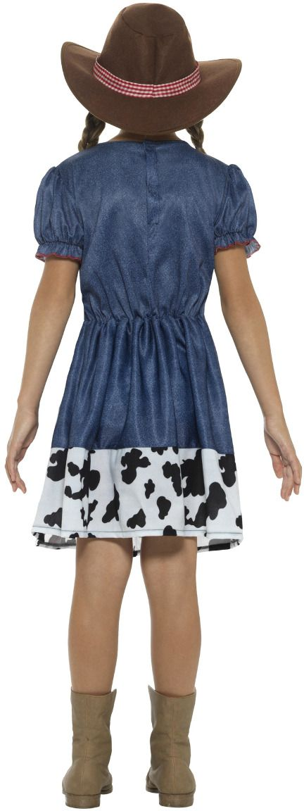 Texaanse cowgirl meisjes jurk