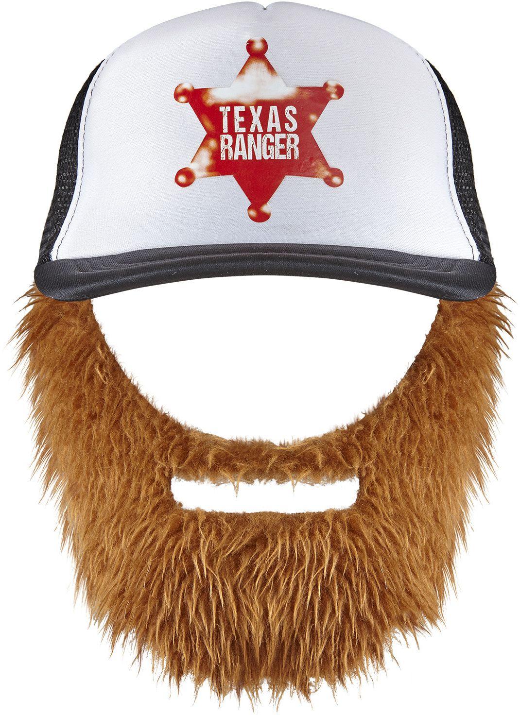 Texas cap met baard