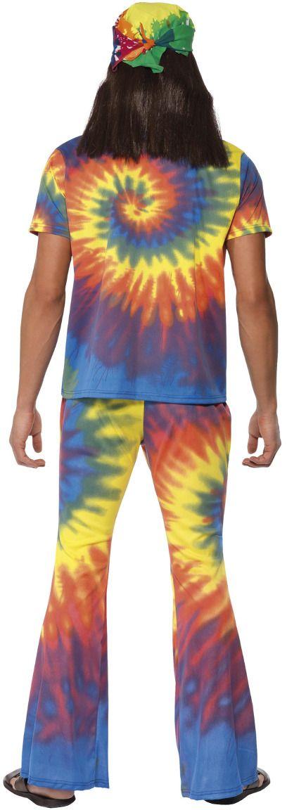 Tie Dye hippie kostuum