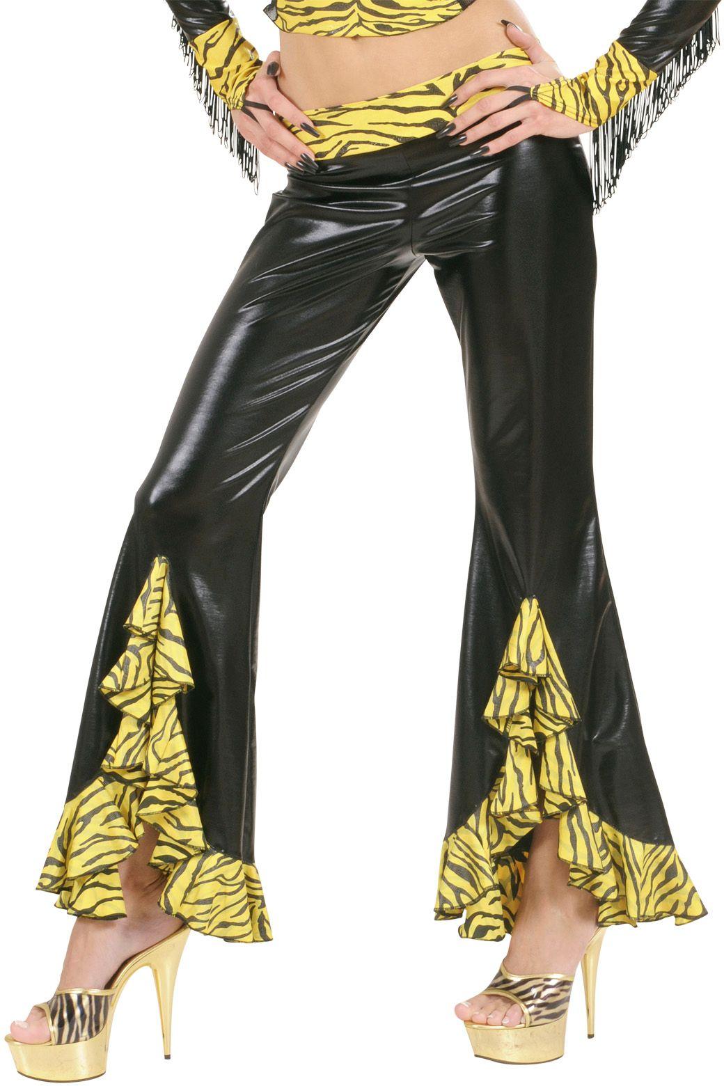Tijger broek dames