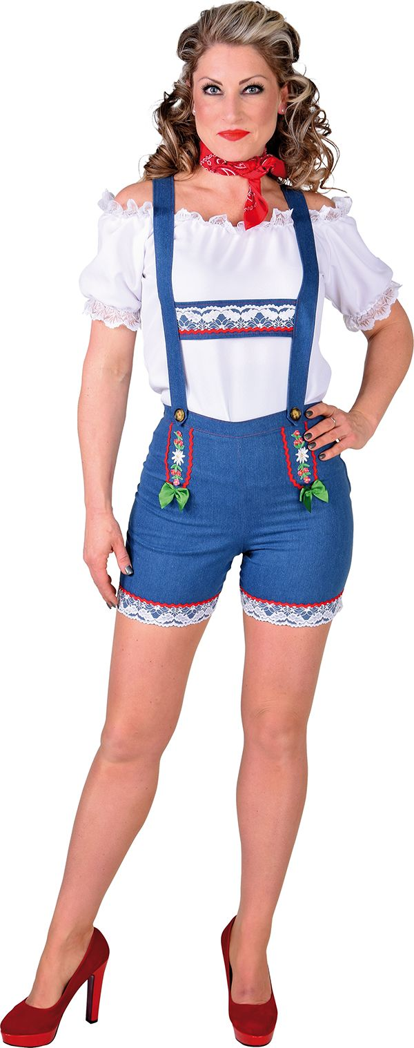 Tirol beerfest hotpants vrouwen