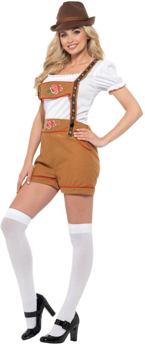 Tiroler oktoberfest lederhose dames