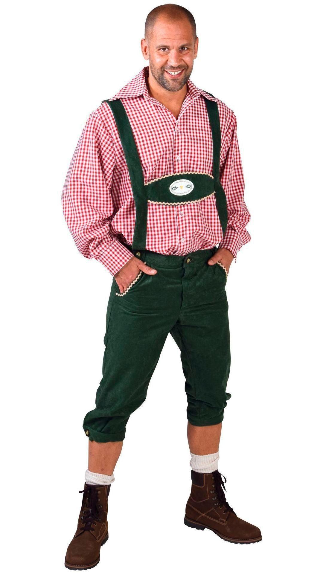 Tirolerbroek groen mannen