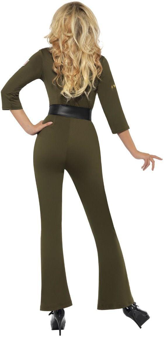 Top Gun groene vliegeniers jumpsuit
