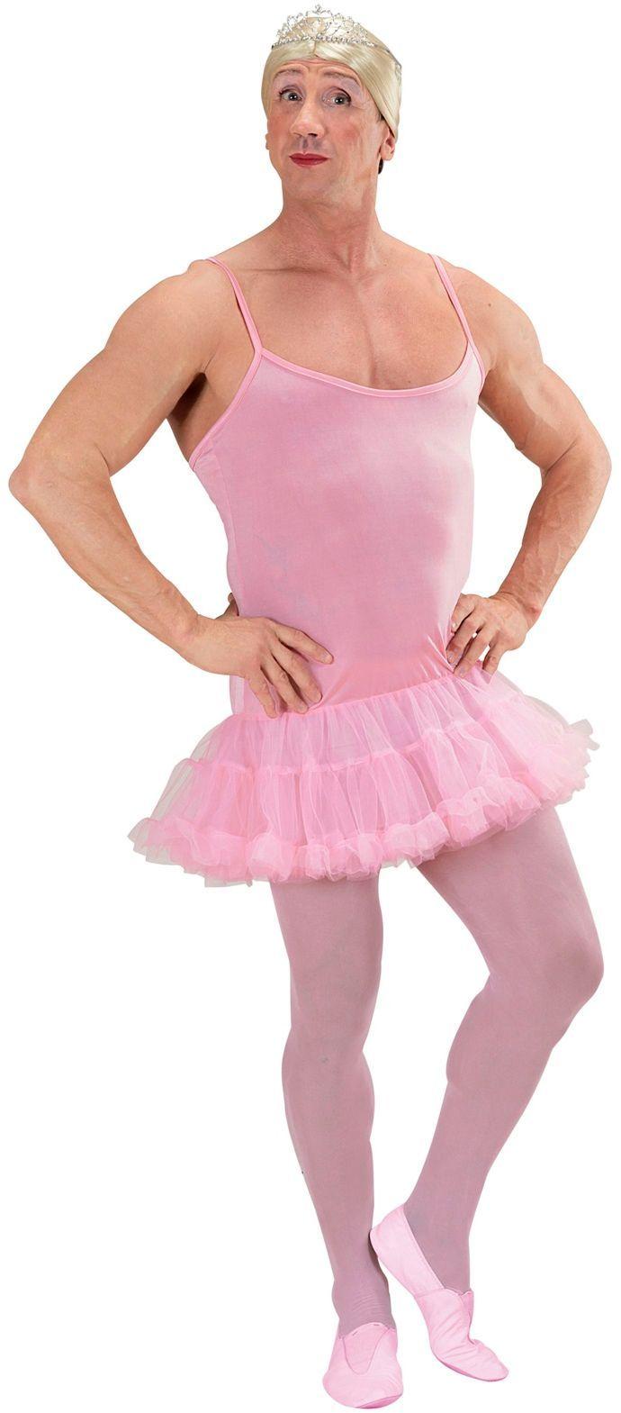 Travestiet ballerina jurkje