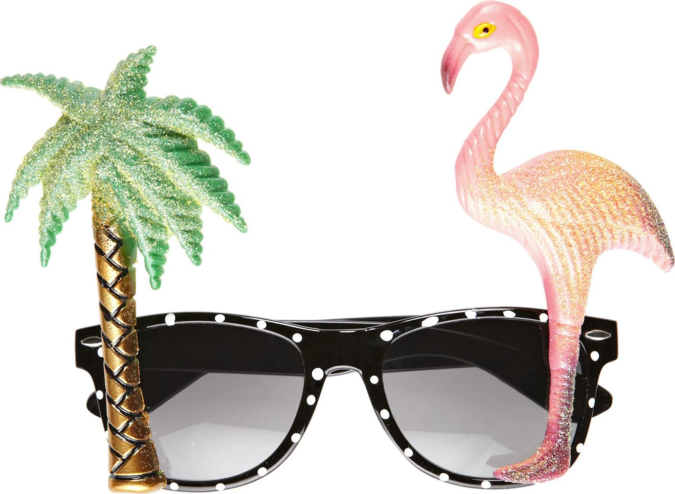 Tropische flamingo bril