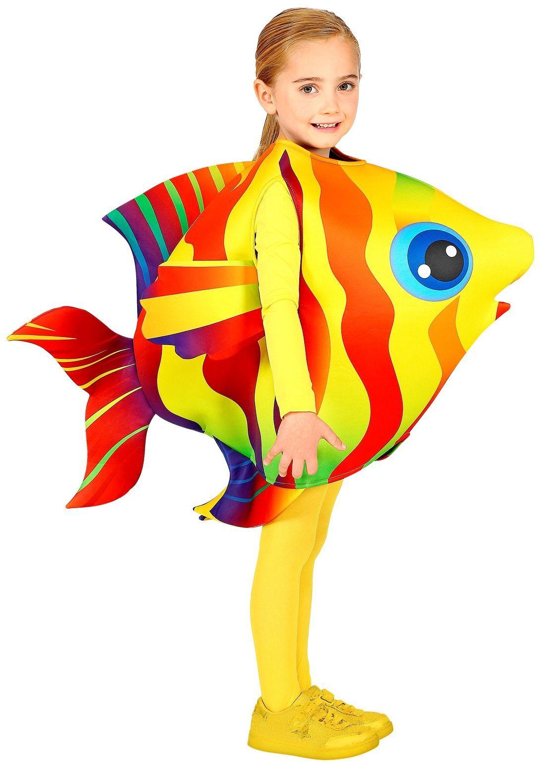 Tropische vis kostuum kind