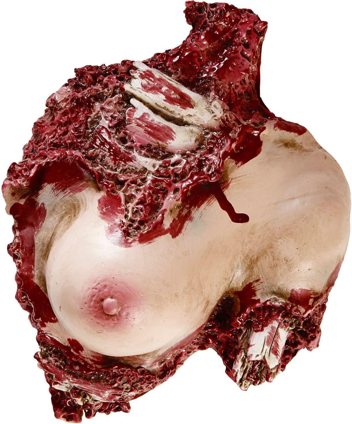Uitgesneden vrouwen torso decoratie