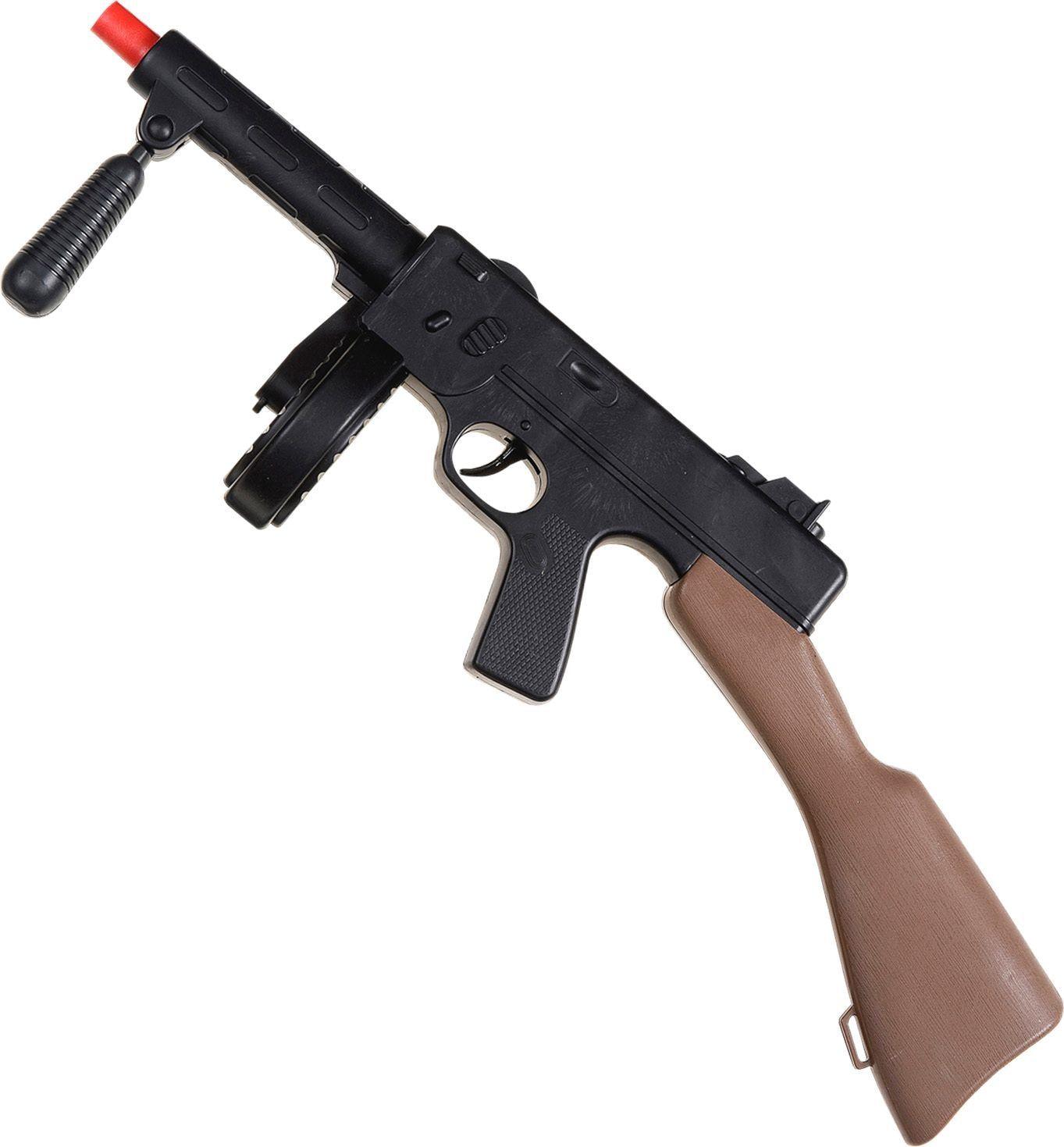 Ump machinegeweer met geluid